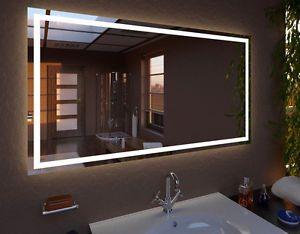 LED Spiegel Modern Line | Spiegel nach Maß | Jede Größe | Badspiegel | Glaserei