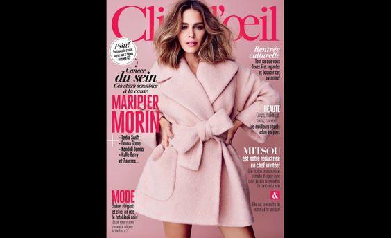 Maripier Morin : les coulisses de sa séance photo pour la couverture d'Octobre de Clin d'oeil | Clin d'oeil