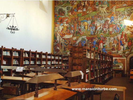 Uno de los atractivos turísitcos de Pátzcuaro que te recomendamos visitar es la Biblioteca Publica Getrudis Bocanegra, ubicada a corta distancia de nuestro Hotel Mansión Iturbe.