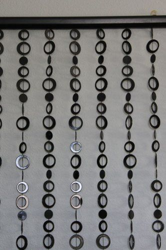 3 ft x 6 ft Hip Circle Beaded Curtain - Room Divider - Black by BalsaCircle, http://www.amazon.com/dp/B007RJX6W6/ref=cm_sw_r_pi_dp_y7J2qb0FZ18BN