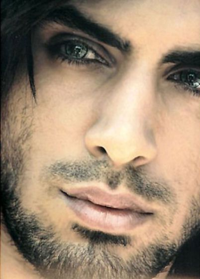 .not sure who he is but has beautiful eyes