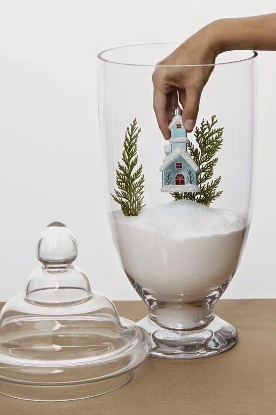 5 ideas de decoración navideña con frascos de apotecario: