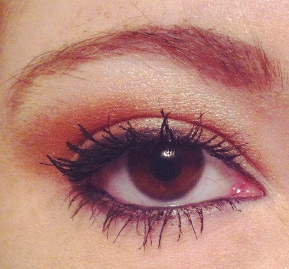 My makeup today :)