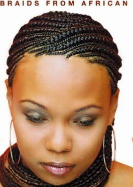 Super Cornrow For The Summer And Africans On Pinterest Hairstyles For Women Draintrainus