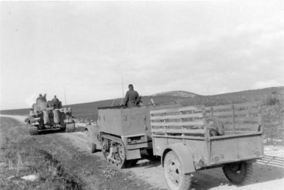 Afrika Korps Tiger I number 131 of Schwere Panzer Abteilung 501