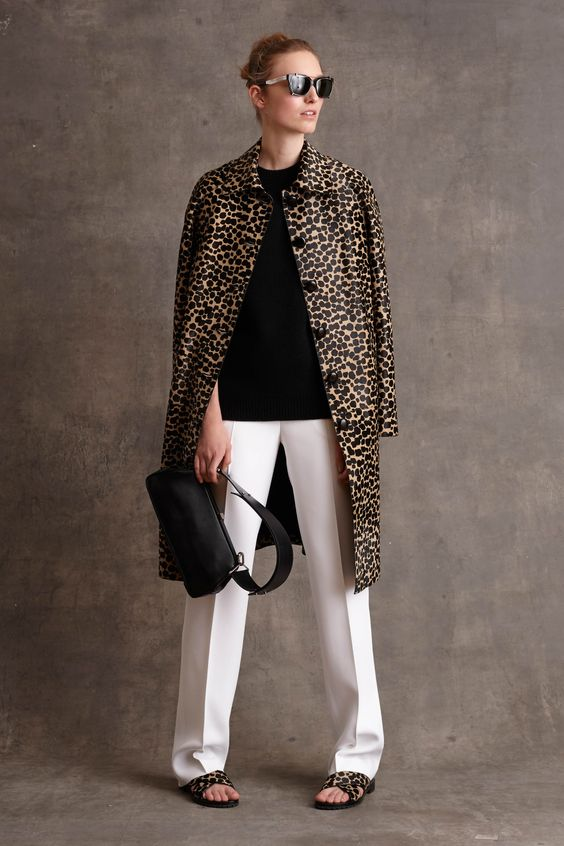 michael kors - The Cut. head to toe classic animal.