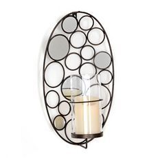 Cosmic Circles Mirrored Sconce at Kirkland's