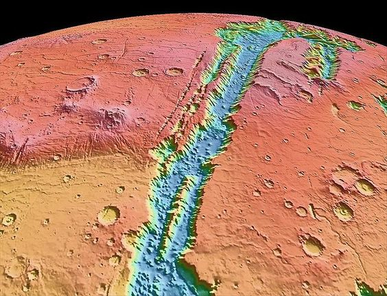 Liquid water on mars   wish we could land with actual people there