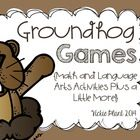 Groundhog math, literacy, and lots more!
