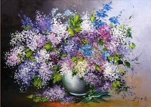"""May Lilacs Impression"""