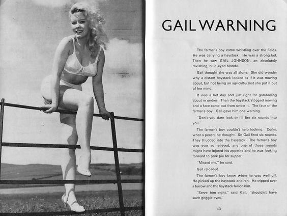 Gail Johnson - Beautiful Britons No 192 - November 1971