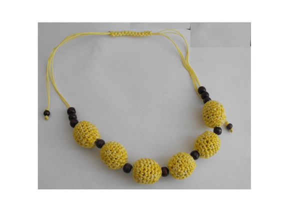 Nursing Necklace - galben