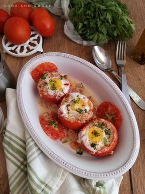 Tomate oeuf cocotte au thon