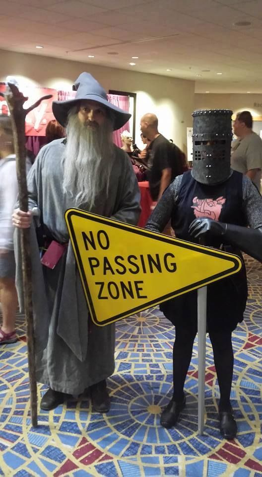 Cosplay Goals! #youshallnotpass: