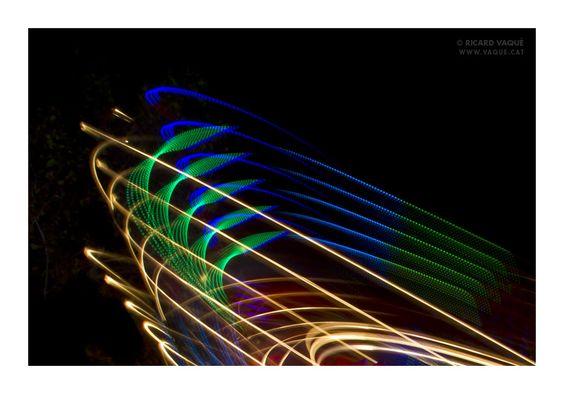 "Series ""Pintures de llum"" (Paintings of light)   Ricard Vaqué (www.vaque.cat) #lightpainting"