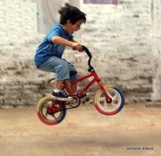 BMXing kid #bunnyhop #BMX #bike #bicycle #cycling #extreme #kids #azerbaijan #exotic #travel #touring #asia