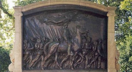54th Infantry Bronze Statue: Little Known Black History Fact | Majic 102.3