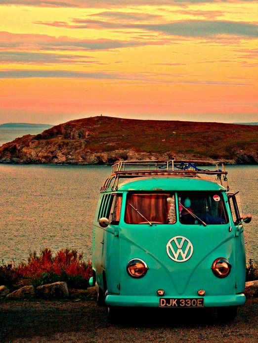 My dream is to travel around the world in a VW Kombi with