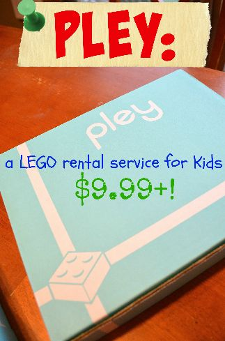 Did you know there is a LEGO Rental service for under $10/month - unlimited play plus FREE shipping & returns!! AD #love2pley