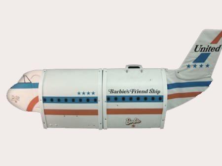 Barbie's Friend Ship Airplane Case