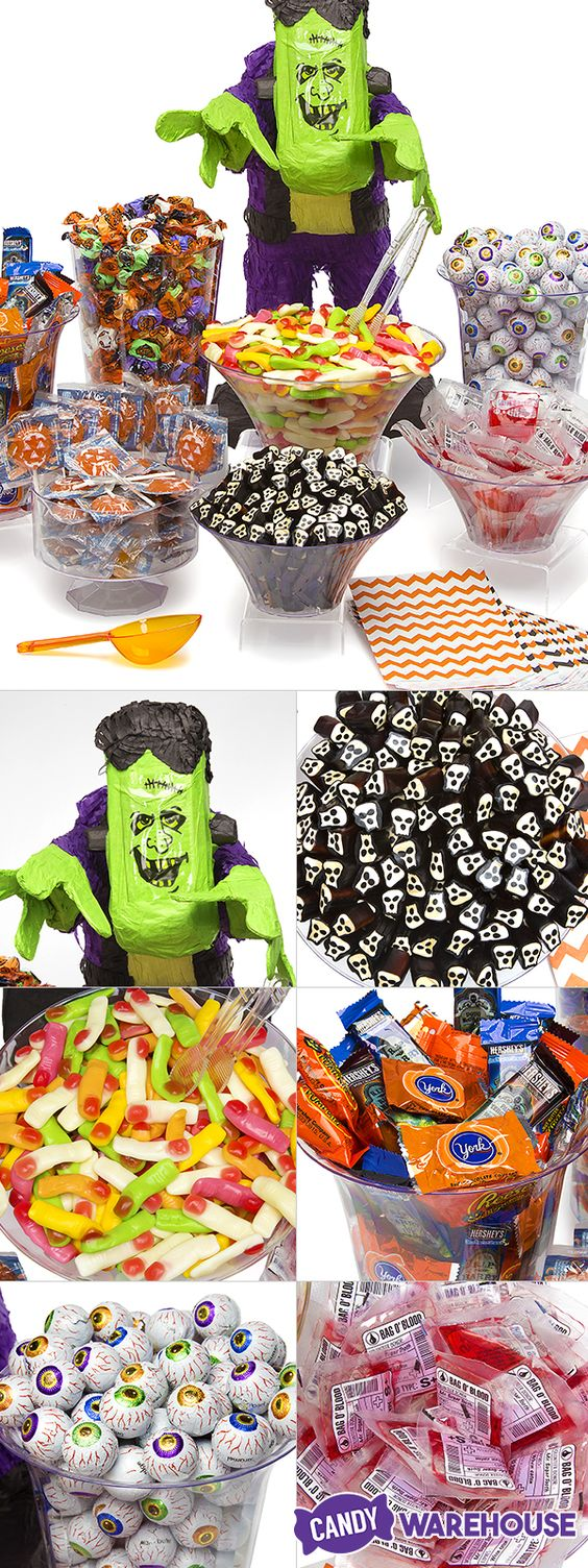 bags halloween candy and party decoration ideas on pinterest. Black Bedroom Furniture Sets. Home Design Ideas