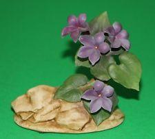 Andrea by Sadek Violet flower figurine 1987 #8040