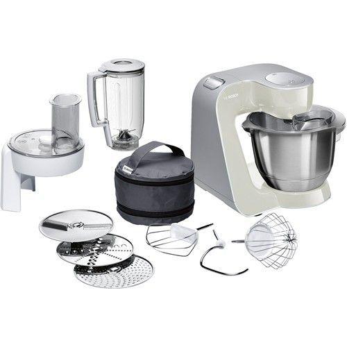 Bosch Mum58l20 1000w 3 9l Grey Stainless Steel White Food Processor 324 99 Bosch Https Bestbuycyprus Com Food P Kitchen Machine Robot Bosch Bosch Mixer