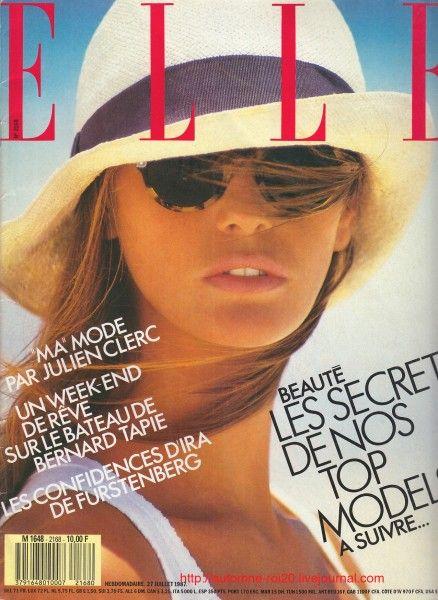 Elle MacPherson - ELLE France 1987