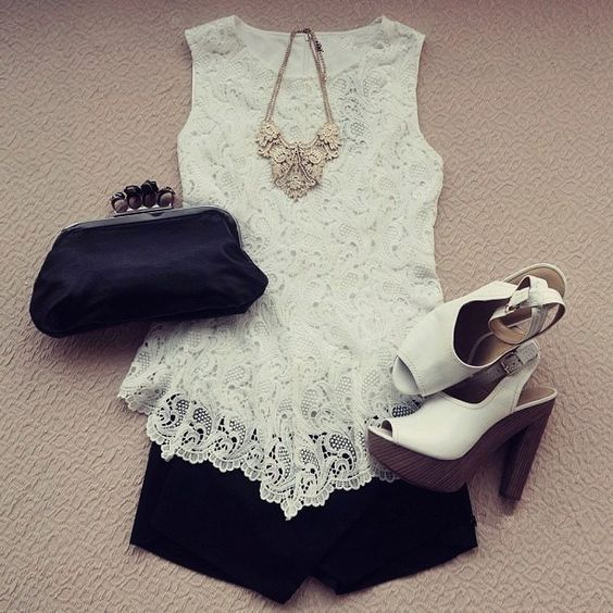 Classy outfit, isn't it?