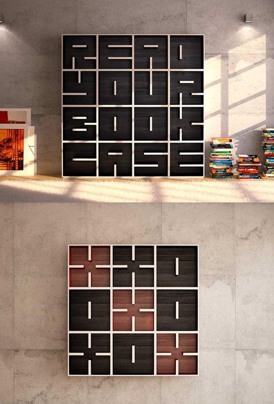Alpha Bookcase