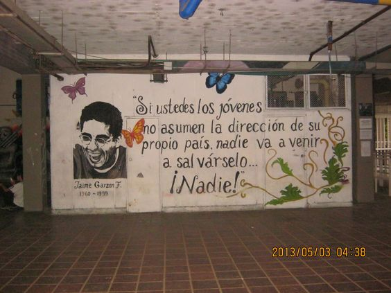 "Graffitero comparado como ""lider politico"""