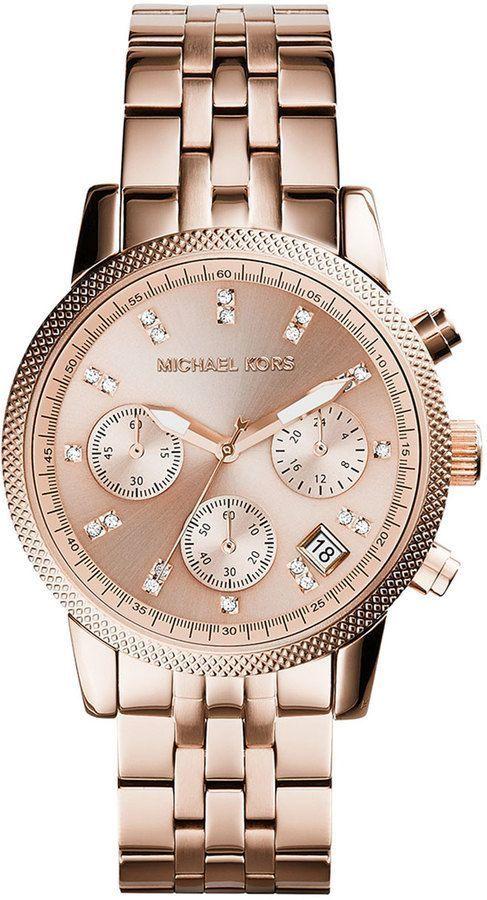 Michael Kors Rose Gold Watch #reloj #michaelkors #relojperu ...