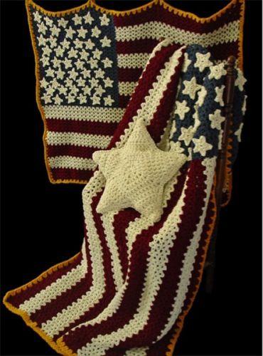Crochet Patterns For Veterans : Afghans, Crochet instructions and Afghan patterns on Pinterest