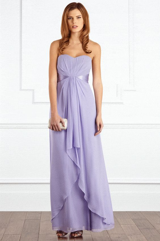 Lilac Bridesmaid Dress from the High Street - Coast Michegan Maxi ...