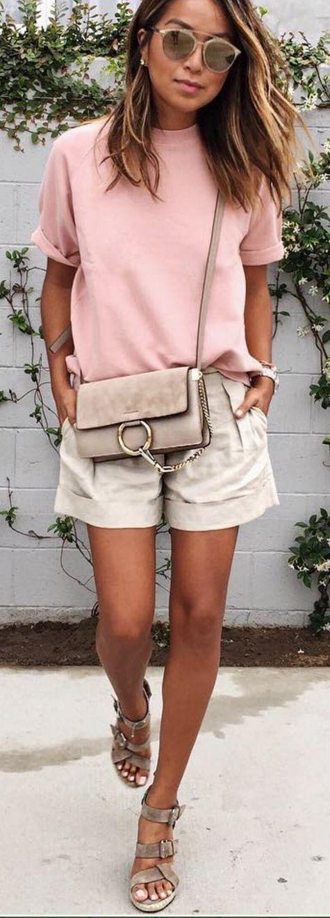 #sincerelyjules #spring #summer #besties |Pink + Beige