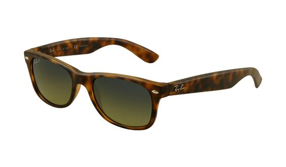 RB2132 894/76 NEW WAYFARER $175.00   Polarized | Frame:Matte Havana | Lens:Crystal Polar Blue-Green Mirror | (RB2132-51)