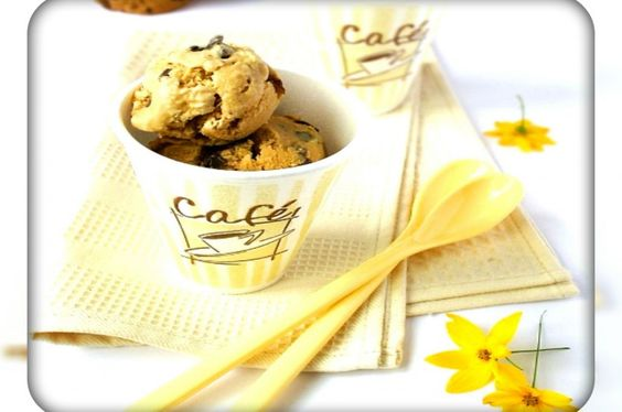 """Ice Cream """"Coffee with chocolate"""". Recipes with photos."""