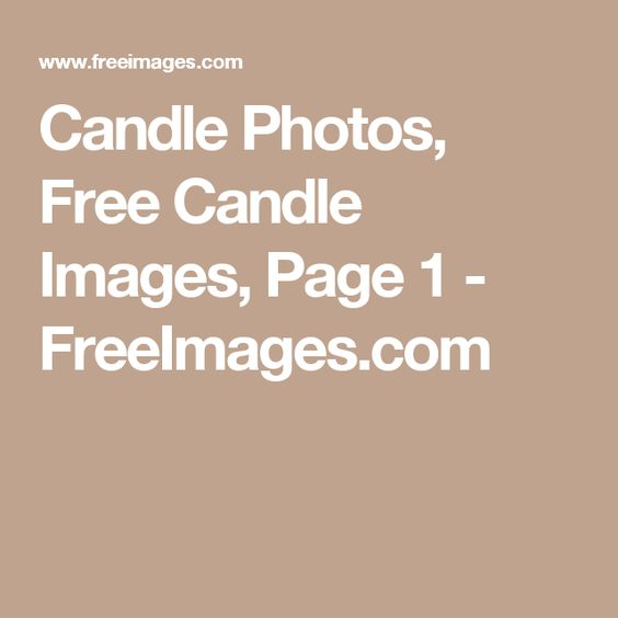 Candle Photos, Free Candle Images, Page 1 - FreeImages.com