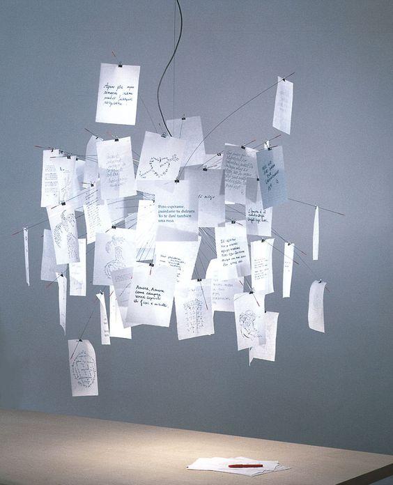 ingo maurer | Japanisches Papier für die Zettellampe zettel z6 Ingo maurer