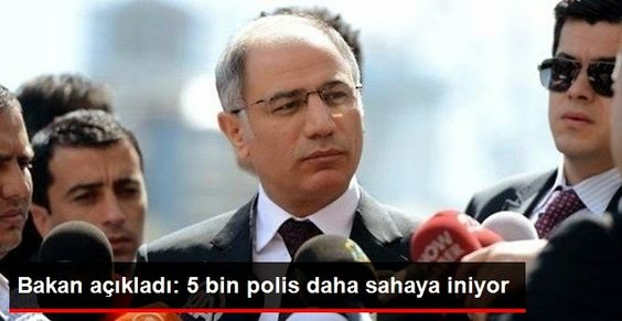 06.Başkent Haber: Bakan Ala: 5 Bin Polis Daha Sahada Görev Alacak