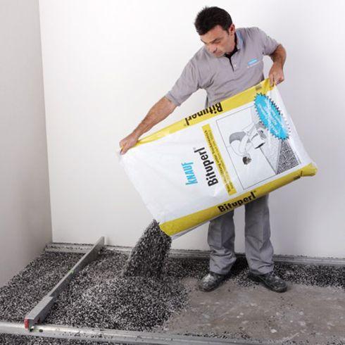 Ausgleichsschuttung Aus Perlit Mit Trittschallschutz Energie Fachberater Trittschalldammung Dammung Fassadensanierung