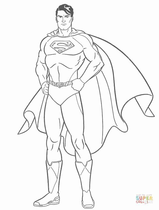 Superman Coloring Printable Games Elegant Superman Coloring Page Avengers Coloring Pages Superman Coloring Pages Avengers Coloring