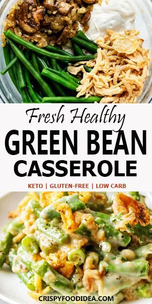 Green Bean Casserole Recipe for Keto Dinner