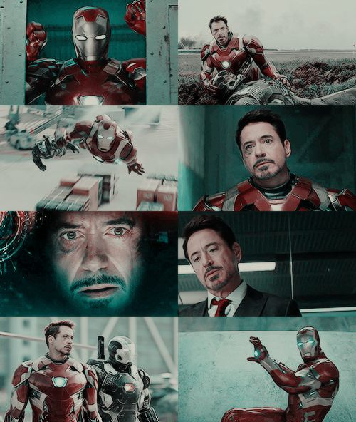 """Tony Stark in what-they-should-have-called """"Iron Man : Civil War"""" because : he stole the Show to Steve!"""