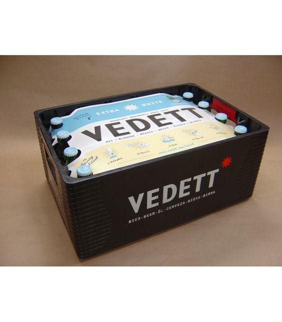 Bia Vedett Extra White 4,7% - Chai 330ml