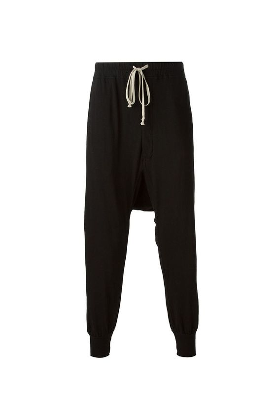 {DRKSHDW / 01 clothing / 03 bottom / 01 pant} Prisoner Drawstring Trousers