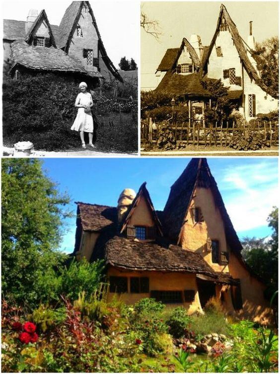 """A hidden Hobbit-home, known simply as...    """"The Witches House"""""""