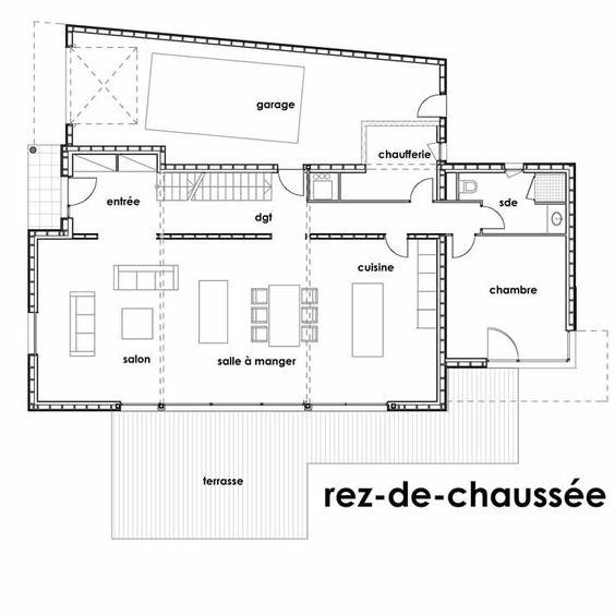 Best Plan Maison Cologique Le Plan Duune Maison Cologique Au Plessis Maison  Tage Pinterest With Plan Maison R 1 100m2