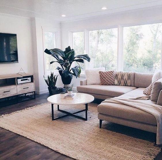 12 Minimalistic Living Room Decor Ideas