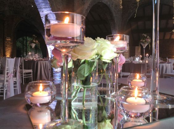 La magia delle candele. The charme of candles.